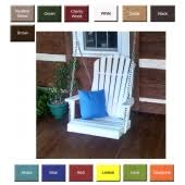 porch swings outdoor poly furniture better than wood