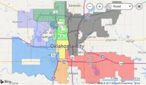 okc zip code map ward map city of okc