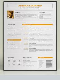 amazing resume templates amazing resume template 2016 55 graphic design microsoft word