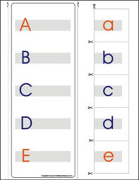 montessori lessons u2013 matching upper and lower case letters a z