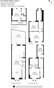 Althorp House Floor Plan 4 Bedroom Terraced House For Sale In Althorp Road Wandsworth