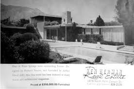 Kaufmann Desert House Floor Plan The Hidden History Of The Kaufmann House Kcet