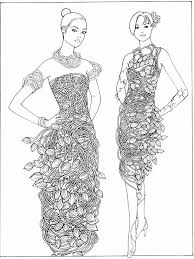 fashion design coloring pages 10 best fashion dress drawing images on pinterest color