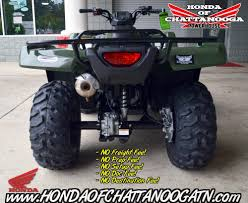 2017 honda fourtrax rancher 4x4 atvs chattanooga tennessee n a