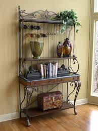 Cheap Bakers Rack Bakers Rack Decorating Idea Home Stuff Pinterest Bakers Rack