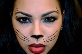 easy face makeup for halloween how to do cat face makeup for mugeek vidalondon