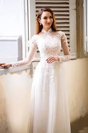 ao dai cuoi dep những mẫu áo dài cưới đẹp mê hồn đáng lựa chọn cho cô dâu 2017