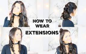 different hairstyles with extensions how to wear extensions for 5 different hairstyles luxy hair