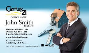 Century 21 Business Cards And Key Century 21 Business Card Design 102031