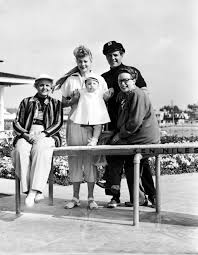 lucille ball and ricky ricardo lucille ball with her kids rare photos lucille ball u0027s family