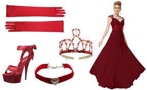 Costumes Halloween Red Queen Wonderland Costume Diy