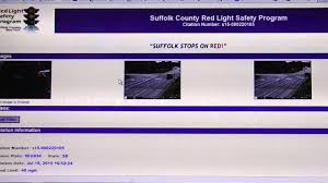 red light ticket suffolk county new york state suffolk county red light cameras youtube
