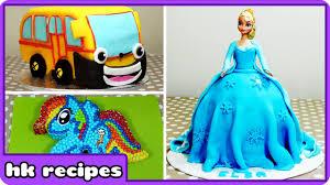 delicious cartoon character cakes good u0027ll