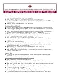 sample resume cover letter psychology