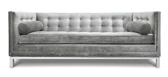 Grey Button Sofa Lounge Act Fabulous Sofas