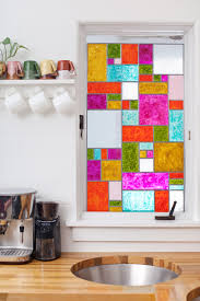 stained glass door windows diy faux stained glass u2013 a beautiful mess