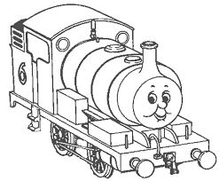 beautiful thomas coloring 83 picture coloring