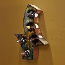 metal wall wine rack bottle holder foter metal wine racks wall