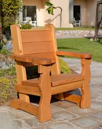 No Cushion Outdoor Furniture - sturdy wooden garden chair outdoor wood seating