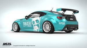 custom subaru brz turbo ml24 automotive design prototyping and body kits