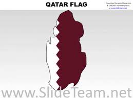 Qatars Flag Qatar Country Powerpoint Flags Presentation Infographics Slides