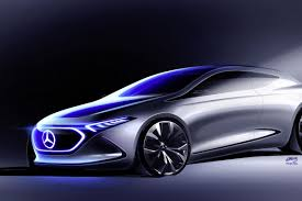 mercedes mercedes benz concept eqa is the company u0027s next showcase of