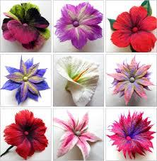 felt flowers felting matters fabulous felt flowers