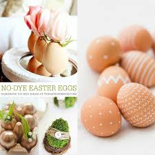 Decorate Easter Eggs Diy Easter Eggs No Dye Ideas The 36th Avenue