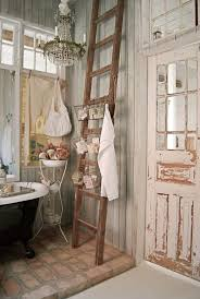shabby chic bathroom cabinet decor ideas wall mirror with shelf