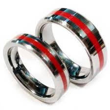 the wedding band the beauty and meaning from firefighter wedding rings