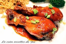 cuisiner pilon de poulet le coin recettes de jos pilons de poulet collant à l asiatique