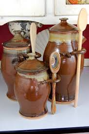 funky kitchen canisters brown kitchen canisters dayri me