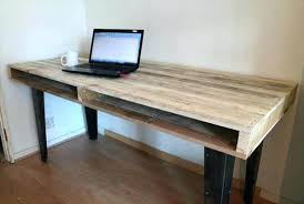 Dining Room Computer Desk Dining Room Computer Desk Recycled Pallet Wooden Slim Dining Table