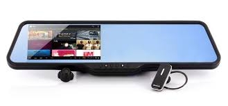 Office Rear View Desk Mirrors This Android Powered Rear View Mirror Sports A 5 Inch Touchscreen