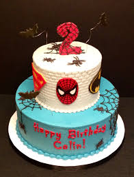 spider man super hero cake for a halloween birthday karen