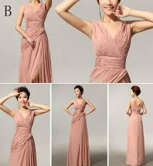 wedding dress party wholesale cheap custom made mix style split bridesmaid