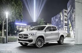 mercedes truck dealers uk mercedes confirms it will sell an x class truck in 2017