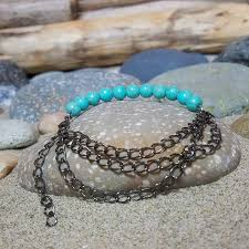 beaded chain bracelet images Half and half beaded chain bracelet em 39 s shore jpg