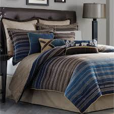 Striped Comforter Clairmont Striped Comforter Bedding By Croscill