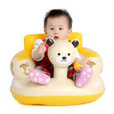 siege bebe gonflable nouveau style de bain siège salle à manger chaise bébé gonflable