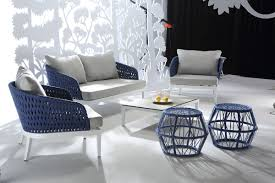 Buenos Modern Outdoor Sofa Set - Modern outdoor sofa