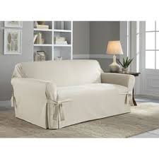 Cotton Duck Sofa Slipcover Tailor Fit Relaxed Fit Cotton Duck Sofa Slipcover Free Shipping