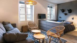 chambre de bonnes studio neuilly sur seine 29 m2 aménagés en appart moderne côté