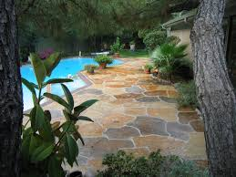 Average Cost Of Flagstone by Stamped Concrete Acid Stain Polished Concrete Dallas Fort Worth