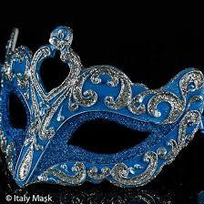 blue masquerade masks masquerade mask colombina vin silver blue