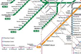 Mbta Map Subway by The 9 Paint Job Options For The Red Orange And Green Lines