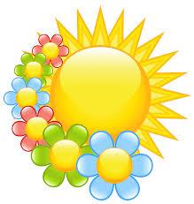 spring sun with flowers clipart 0 clipartwiz clipartix