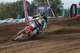 honda racing motocross webster roosts to moto win in wa as crf honda racing riders climb