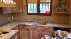 changer plan de travail cuisine carrelé avant après d une cuisine dans une villa à marseille aix et