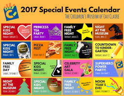 special events at the children u0027s museum of eau claire wi